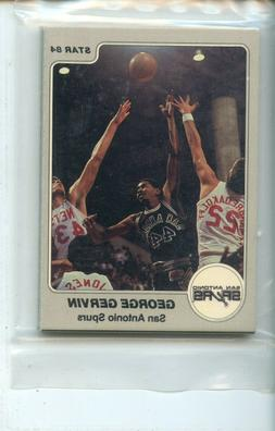 1983-84 Star San Antonio Spurs 11 Card Original Sealed Team