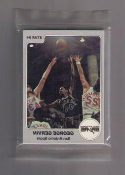 1983-84 STAR SAN ANTONIO SPURS TEAM SET SEALED BAG SET!