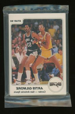 1984-85 Star Basketball San Antonio Spurs Complete Sealed Te