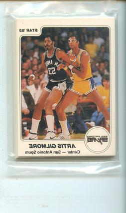 1984-85 Star San Antonio Spurs 12 Card Original Sealed Team