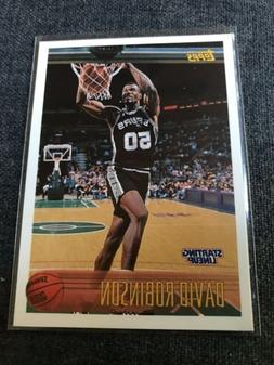 1997 STARTING LINEUP DAVID ROBINSON NMMT San Antonio Spurs B