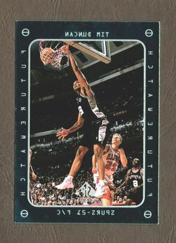 1998 Upper Deck Future Watch Card #165 Tim Duncan San Antoni