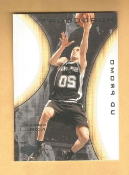 2003-04 Upper Deck Hardcourt PROMO Manu Ginobili #78  San An