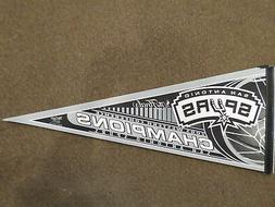 2005 SAN ANTONIO SPURS WESTERN CONFERENCE CHAMPIONS PENNANT