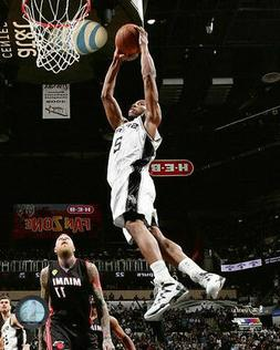 2014 San Antonio Spurs KAWHI LEONARD Glossy 8x10 Photo NBA F