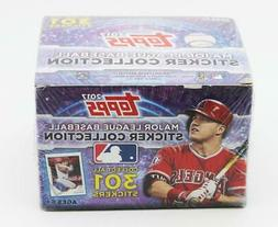 2017 Topps MLB Baseball Sticker Pack Box 50 Packs of 8 stick