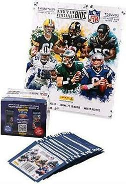 2018 Panini NFL Football Sticker Album & 50 Count Box of sti