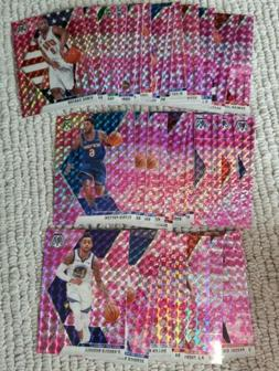 2019-2020 PANINI MOSAIC PINK CAMO PARALLEL ~ PICK YOUR CARD