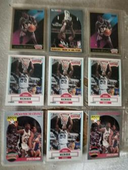 9 card sleeve rookie cards of david