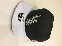 adidas Youth San Antonio Spurs Visor Graphic Draft Snapback