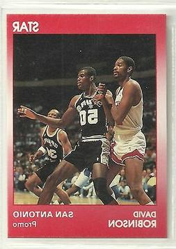 David Robinson 1990 Star Company San Antonio Spurs RED Promo