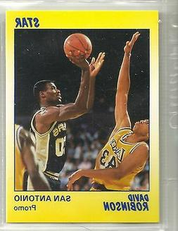 David Robinson 1990 Star Company San Antonio Spurs Yellow Pr