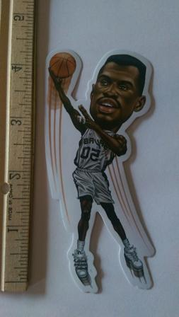 DAVID ROBINSON SAN ANTONIO SPURS NBA VINYL STICKER