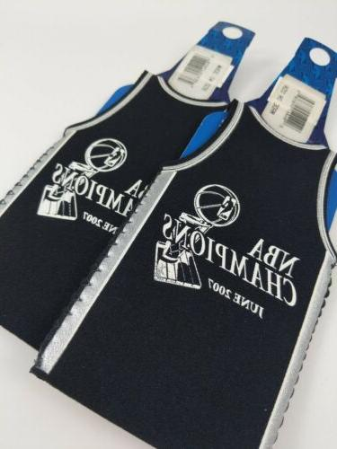 2x San NBA Bottle Koozie Insulator ~ Champions