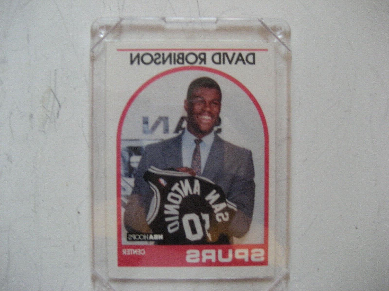 david robinson spurs rookie card 138 in