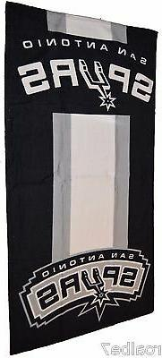 Licensed NBA San Antonio Spurs Fiber Reactive Beach Dorm Bat