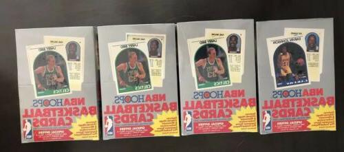 lot of 4 1989 90 sealed hoops
