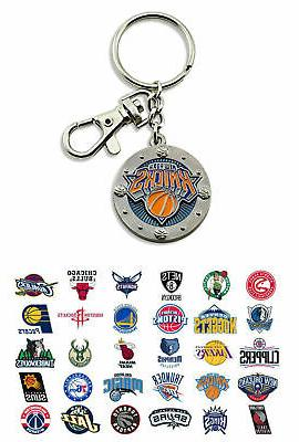 nba impact keychain choose your team