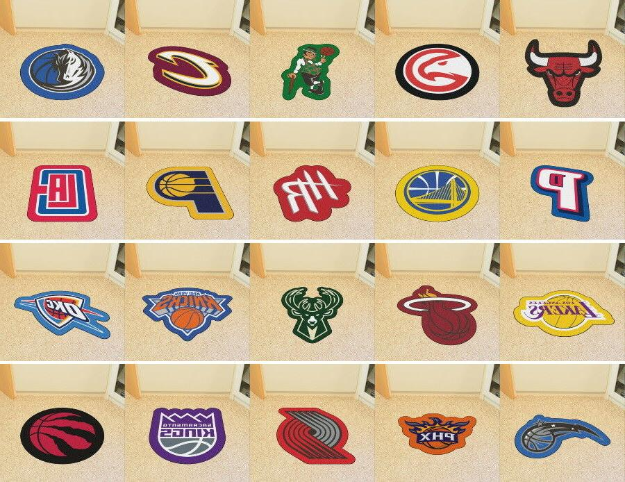 nba mascot mat area rugs choose your