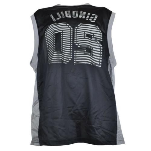 NBA #20 Jersey Black Tank Top Basketball Size
