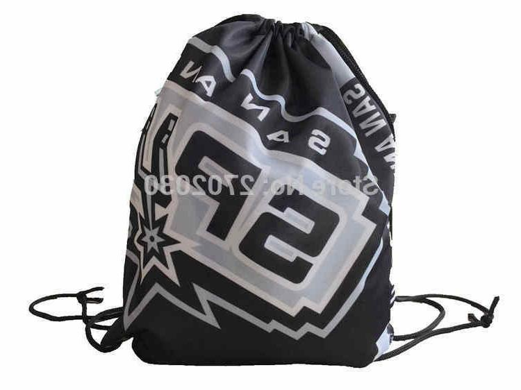 san antonio spurs football logo drawstring bags