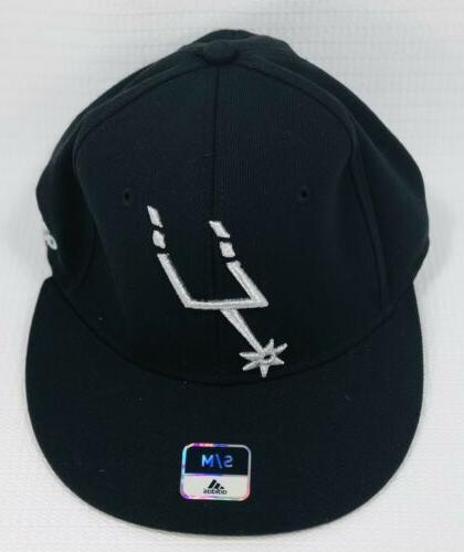 san antonio spurs nba fitted flat visor