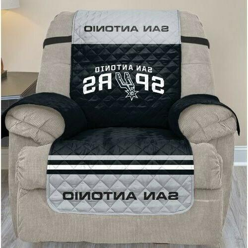 san antonio spurs recliner slipcover with nba