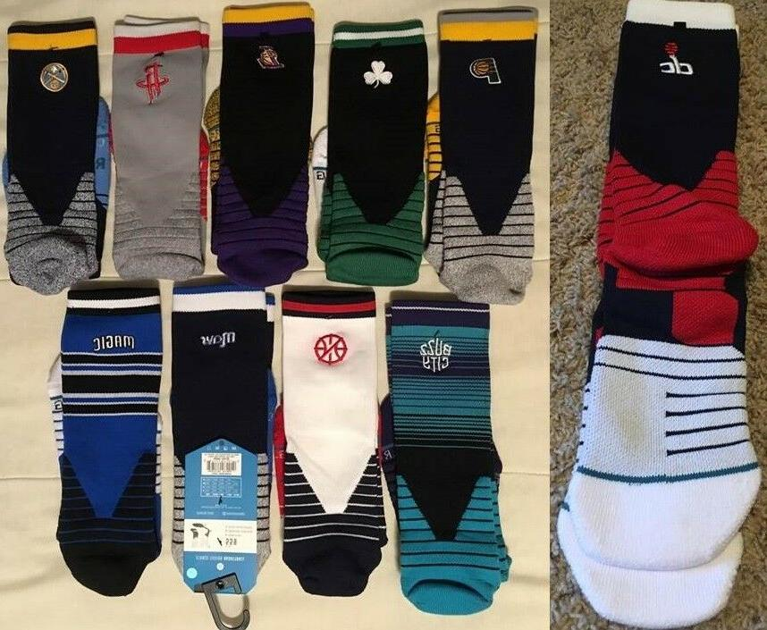 stance fusion basketball socks crew size l