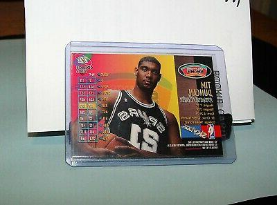 🏀Tim DUNCAN #21💎2020 SKYBOX Metal CARD🚨In Sleeves❌🏀
