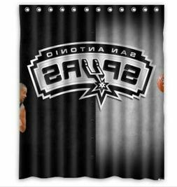 Limited Edition san antonio spurs Custom Shower Curtain Size