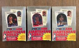 Lot of 3 1989-90 Hoops Basketball Series 2 Sealed Boxes Robi