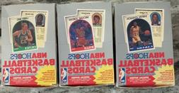 Lot of 3 1989-90 Hoops Basketball Series 2 Boxes Robinson RC