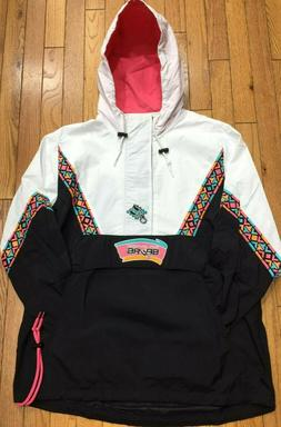 Mitchell & Ness Half Zip Anorak NBA San Antonio Spurs Light