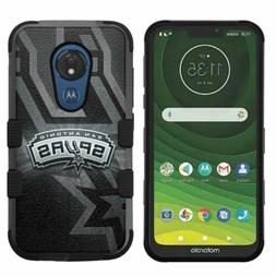 for Motorola Moto G7 Power, Hard Impact Rugged Case San Anto