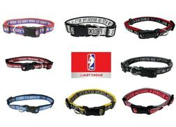 NBA basketball Pet Fan Gear DOG Collar SM, MD and LG  Multip