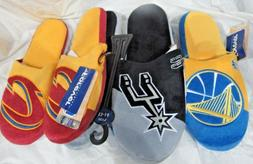 NBA Colorblock Slippers by Forever Collectibles -Select- Tea