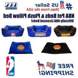 Pets First NBA Pet Cuddle Bed Pillow bed Mattress bed for DO