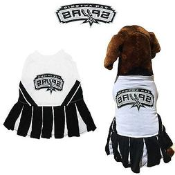 NBA Pet Fan Gear SAN ANTONIO SPURS Cheerleader Female Dog Dr