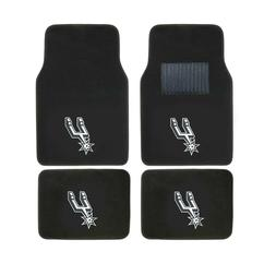 New NBA San Antonio Spurs Car Truck Front Rear Back Carpet F