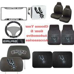 NBA San Antonio Spurs Choose Your Gear Automotive Accessorie