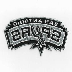 NBA San Antonio Spurs Iron on Patches Embroidered Badge Patc