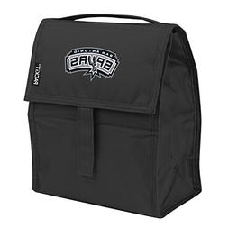 Kolder NBA San Antonio Spurs Packit Freezable Lunch Bag, Bla