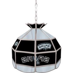 NBA San Antonio Spurs Tiffany Gameroom Lamp, 16""