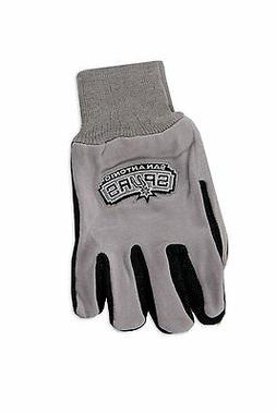 Wincraft NBA San Antonio Spurs Two Tone Utility Gloves 9813