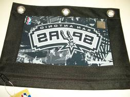 NBA San Antonio SPURS Zippered Pencil Case/Pouch for 3 Ring