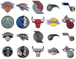 NBA Car Emblems Color or Chrome Choose Team Factory Direct