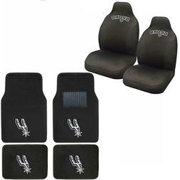 New NBA San Antonio Spurs Car Truck Seat Covers & Front Back