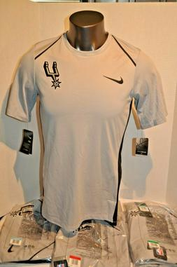 New NWT San Antonio Spurs Nike Dri-Fit Swoosh Mens Sizes T-S