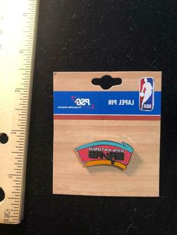NEW San Antonio Spurs LOGO Pin - NBA Licensed - Butterfly Pi