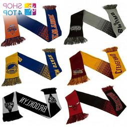 OFFICIAL NBA BASKETBALL CLUB TEAM BC FAN KNIT SCARF ACRYLIC